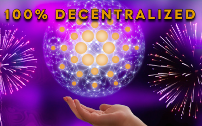 Cardano ist jetzt eine 100 % dezentrale Cryptowährung !